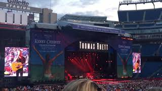 "Thomas Rhett ""Unforgettable"" @ Country Fest - Gillette Stadium in Foxborough, MA 8/25/17"