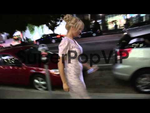 Pamela Anderson and Rick Salomon greet fans in Hollywood,...