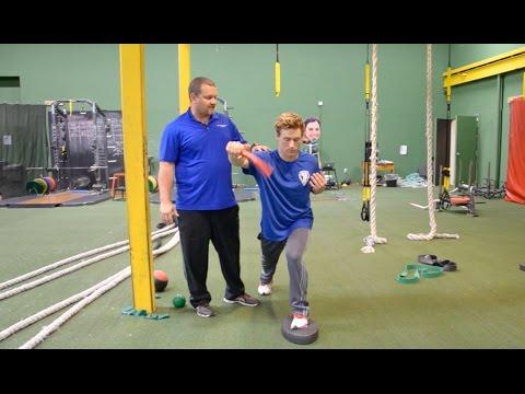 Balanced FlexBar Oscillation - Baseball Injury Prevention Exercise