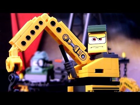 Lego Claw Crane from Disney Pixar Cars2 Lemons 9486 Oil Rig Escape by DC Toys Collector
