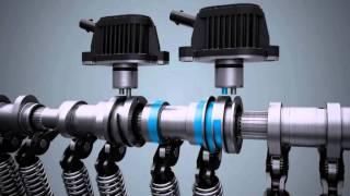 Volkswagen TSI Motor Animasyon