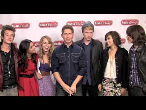 "Lemonade Mouth Cast - ""Here We Go"" - Celebrity Take with Jake - Radio Disney"