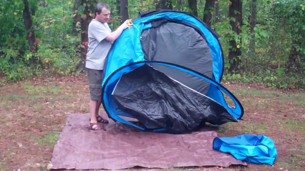 Quechua Waterproof Pop Up Camping Tent 2 Seconds Iiii 4