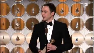 Video: Golden Globes 2011 for Best Actor - Television Series Musical or Comedy (Jim Parsons)
