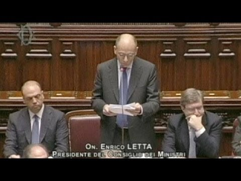 Italy: Prime Minister Letta wins confidence of Senate and lower house