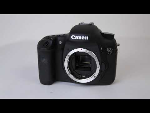 Canon 7D Unboxing + 8fps Mirror Demo