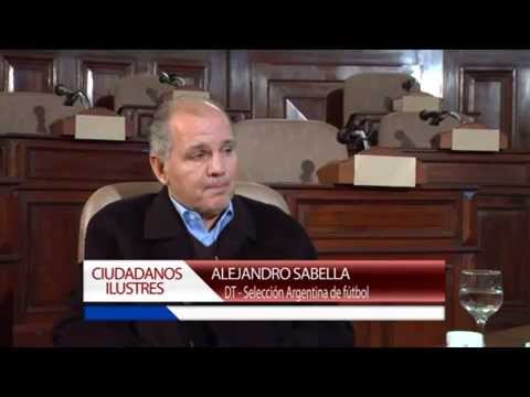 Ciudadanos Ilustres . Nota a Alejandro Sabella 2da parte