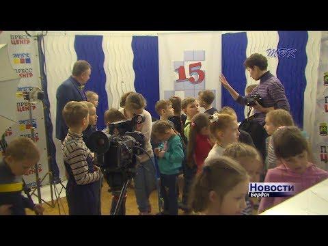 Юные бердчане пришли на экскурсию в телекомпанию ТВК