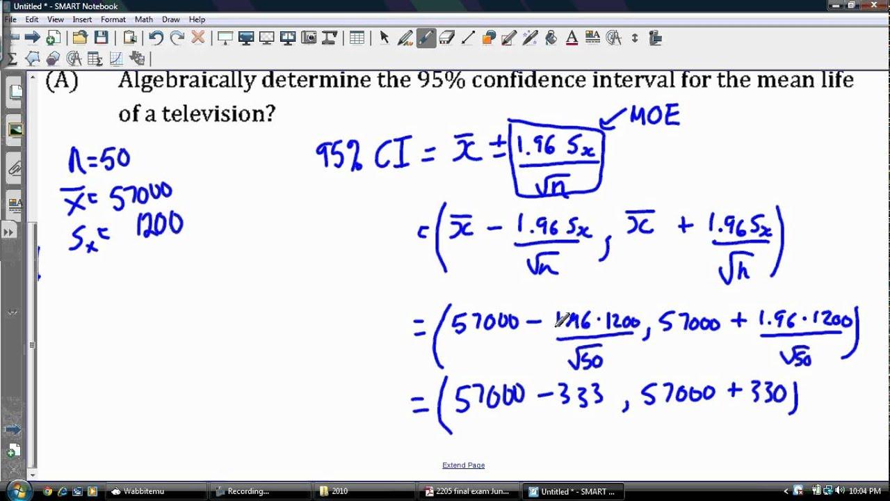 How do you construct a 90 confidence interval
