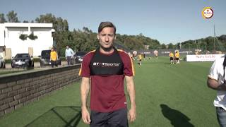 Francesco Totti's final training session with Roma