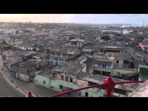 Accra, View from Light House, James Town, Accra