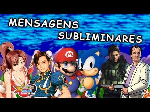 MENSAGENS SUBLIMINARES NOS GAMES