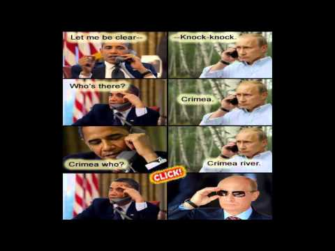 Meme wars: Putin vs USA