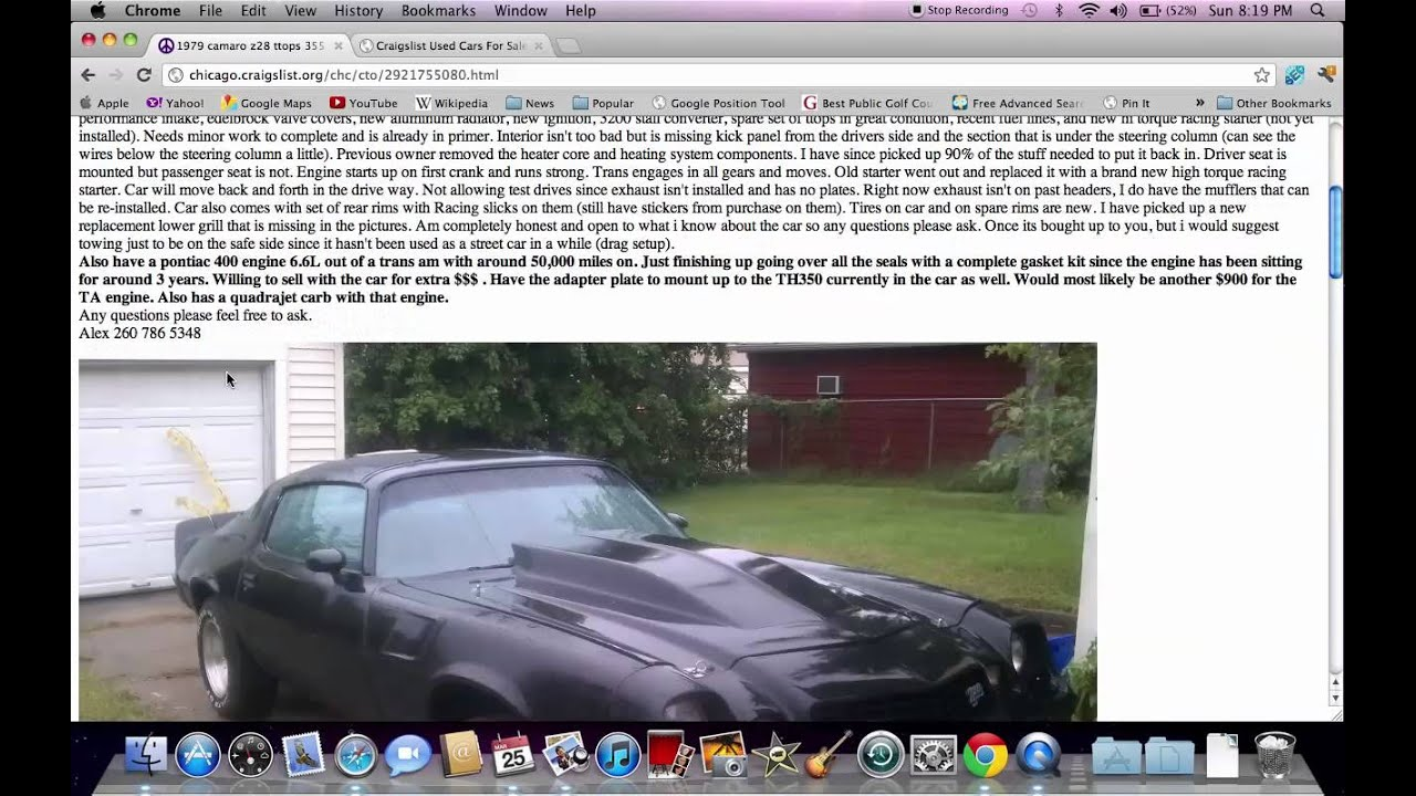 Used Vans For Sale >> Chicago Craigslist Illinois Used Cars - Online Help for ...