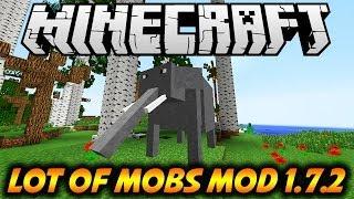 MINECRAFT: LOT OF MOBS MOD 1.7.2 POR FAVOR MATADME