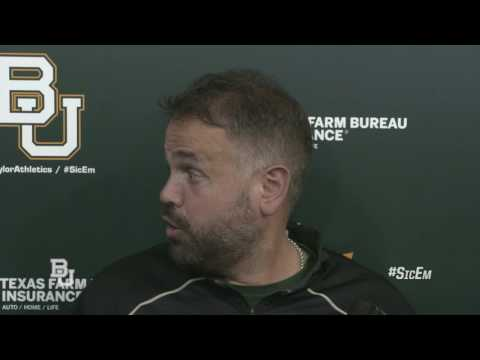 Baylor Football:  Coach Matt Rhule Post-Practice No. 11
