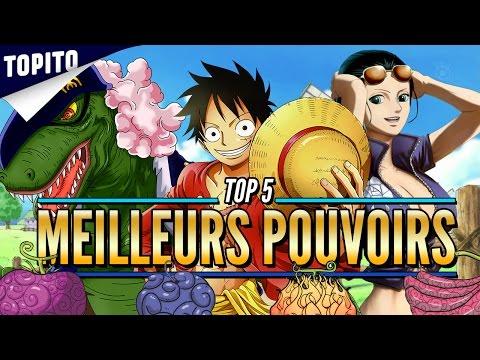 Top 5 des fruits du démon les plus cools (dans One Piece bien sûr)