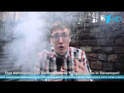 Russian reporter in Ukraine