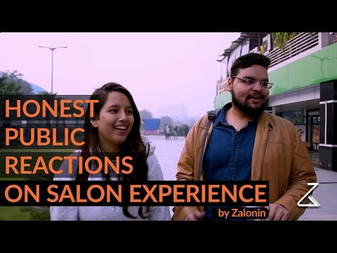 Honest Public Reaction | Personal Styling & Grooming | Funny Salon Experience