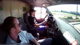 Driving The U-HAUL Truck