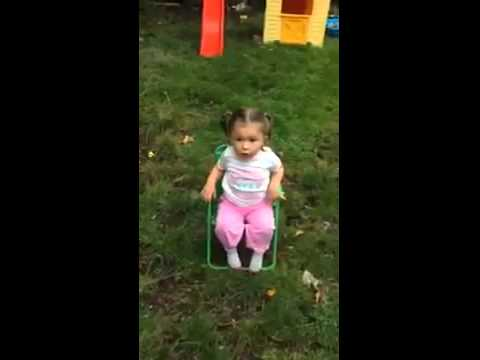 Funny 3 year old girl ice bucket challenge