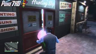 GTA V / Como Robar En Las Tiendas De Armas En GTA 5