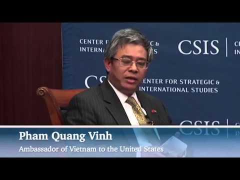 Đại sứ Mỹ-Việt nói chuyện về quan hệ song phương