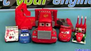 Mack Spy Truck Playset From Action Agents Cars 2 W/ Racers