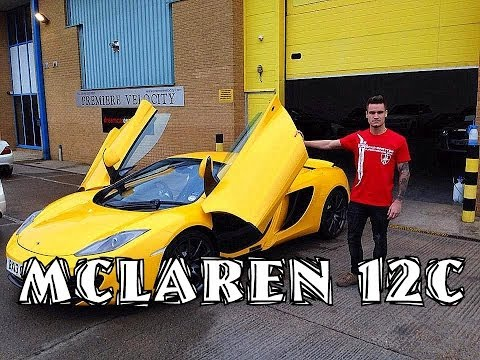My First Supercar: McLaren 12C Spider Review