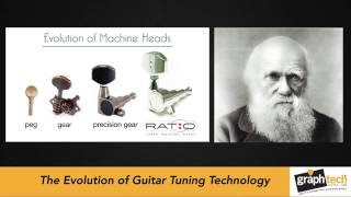 Watch the Trade Secrets Video, Graph Tech Guitar Labs Ratio Balanced Gear Tuning Technology