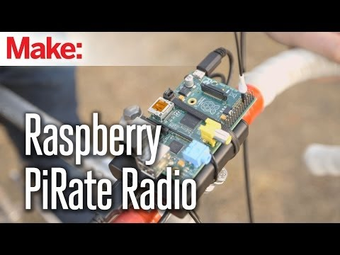 "Yar matey! Streaming Raspberry Pirate Radio is ""as easy as pi(p)e!"""