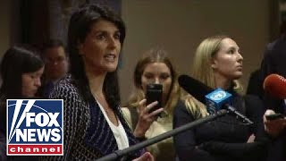 Nikki Haley on Syria: At some point, you must say 'enough'