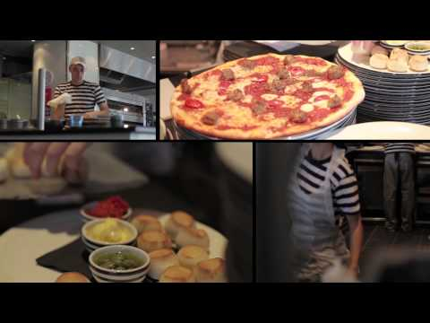 Pizza Express for Business Rewards Pizza Making Party