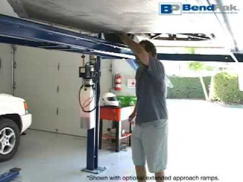 Home Storage or Parking Car Lift - YouTube