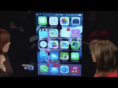 ABC TV App Chat with Francie Black:  iOS 7 New Features