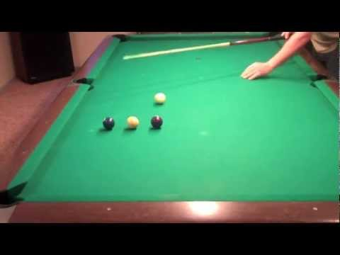 Billiards Lessons - Speed Control