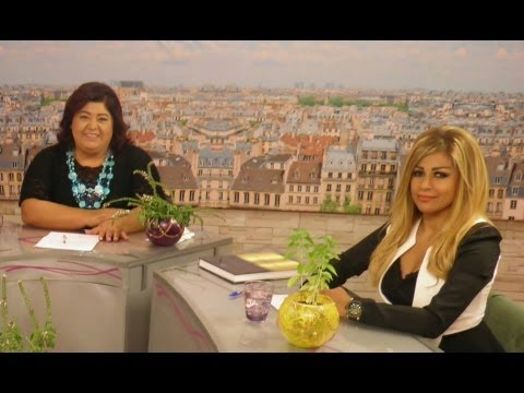 Noha Farran at Arab Woman Tv with Lilianne Abdo Nemri نهى فران