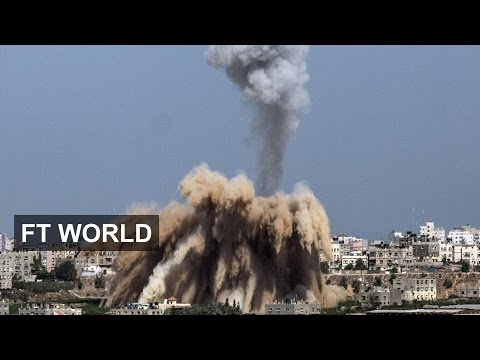 Fighting between Israel and Hamas escalates