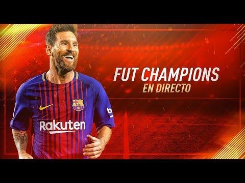 SEGUIMOS CON EL FUT CHAMPIONS DE FIFA 18 A INTENTAR NO LLORAR EN DIRECTO!!!