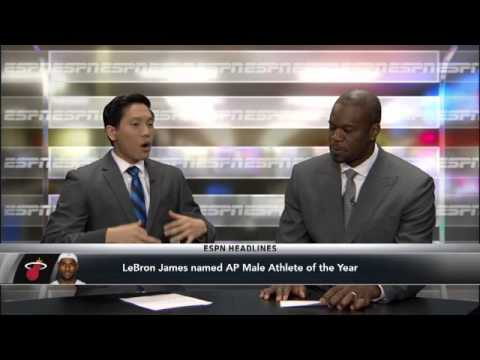 LeBron Named AP Athlete Of The Year