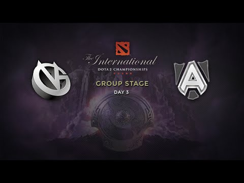 Alliance -vs- VG, The International 4, Group Stage, Day 3