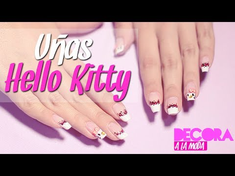 Pinta Tus Uñas Super Facil (Hello Kitty) / Nails