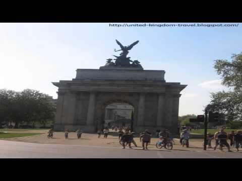 Wellington arch Knightsbridge London