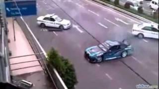 Fugindo Da POLICIA, E ZUANDO AINDA NO DRIFT NA FRENTE DAS