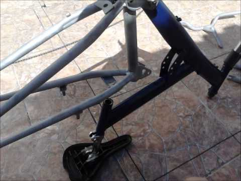 Reforma da bike - Rebaixada