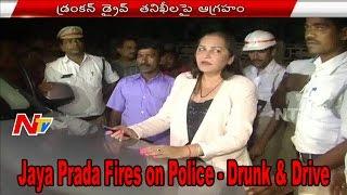 Drunken drive check: Actress Jayaprada slams traffic police