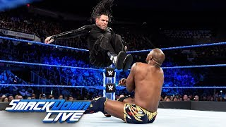Jeff Hardy vs. Shelton Benjamin: SmackDown LIVE, April 17, 2018
