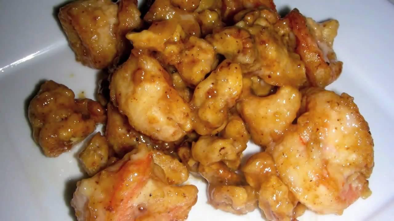 Honey Walnut Shrimp Recipe like Panda Express - YouTube