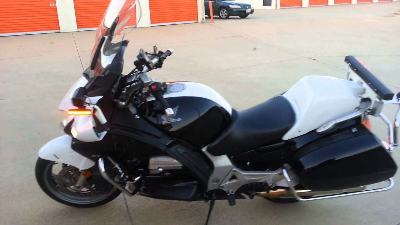 Honda St1300 Police Motorcycle Honda St1300 Police