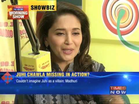 Madhuri Dixit : Couldn't imagine Juhi Chawla as a villain